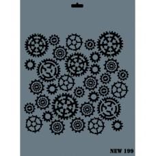 Stencil N-199