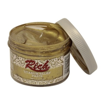 D-Relief Paste Titanium Metallic Beyaz Altin Rich 160ml R-5512