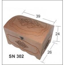 ΜΠΑΟΥΛΟ MDF BK-SN302