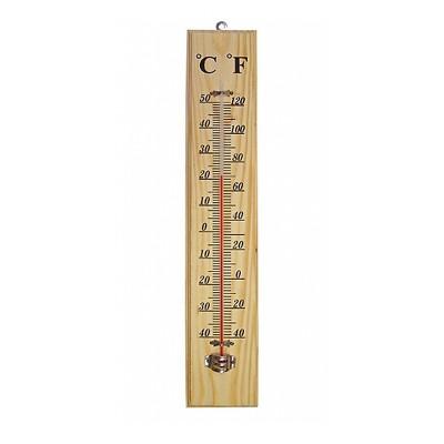 θερμόμετρο ξύλινο 22Χ5cm