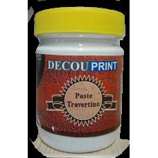 Decouprint Travertino Πάστα άγρια και σκληρή (εφέ σοβά) 200ml P-107