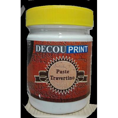 Decouprint Travertino Πάστα άγρια και σκληρή (εφέ σοβά) 400gr P-107