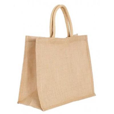 Τσάντα αγοράς απο γιούτα με στρογγυλά χερούλια AC-112