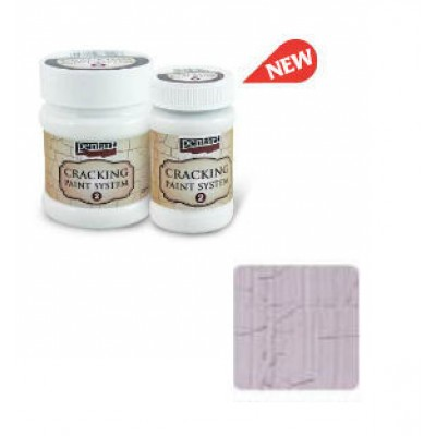 Cracking Paint System Step 2, Pentart 100ml , Victorian Pink