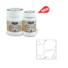 Cracking Paint System Step 2, Pentart 100ml , White